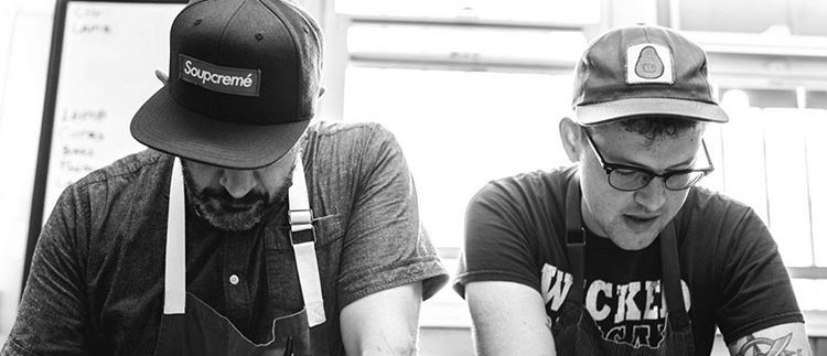 Rustic Canyon's Chef/Partner Jeremy Fox & Executive Chef Andy Doubrava