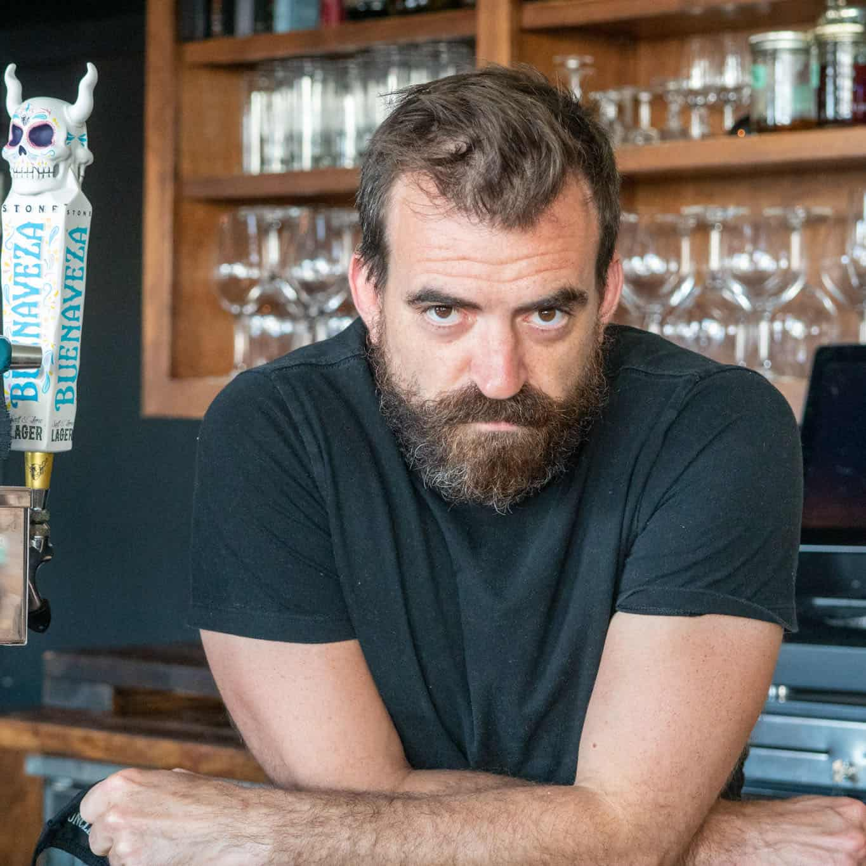 Bar Manager Justin Dicken